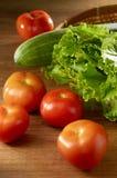 Tomate et légumes Photographie stock libre de droits