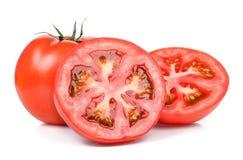 Tomate getrennt auf dem weißen Hintergrund Lizenzfreie Stockfotografie
