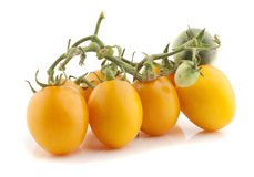Tomate jaune photo stock