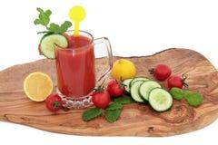 Tomate Juice Health Drink Imagenes de archivo