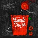 Tomate Juice Image Fotografía de archivo libre de regalías