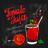 Tomate Juice Image Fotografía de archivo