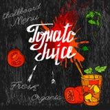 Tomate Juice Image Imágenes de archivo libres de regalías
