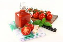 Tomate-Ketschup Stockbild