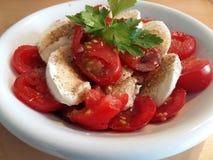 Tomate-Mozarella Стоковое Изображение