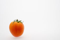 Tomate no branco foto de stock royalty free
