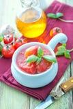 Tomate no molho Fotografia de Stock