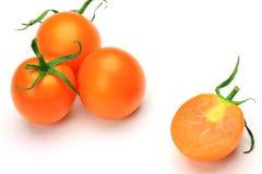 Tomate orange Photo libre de droits