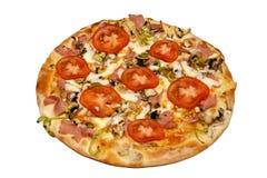 Tomate-Pizza lizenzfreies stockfoto
