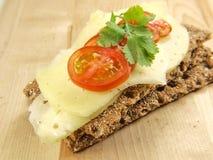 Tomate, queijo e salsa Imagem de Stock Royalty Free