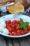 Tomate rôtie Caprese photos libres de droits