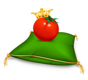 Tomate real Imagem de Stock Royalty Free