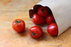 Tomate rouge Image stock