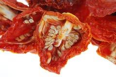 Tomate séchée au soleil Photographie stock