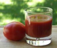 Tomate-Saft Stockbilder