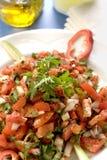 Tomate-Salat Lizenzfreie Stockfotos