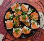 Tomate Sandwitches Photographie stock libre de droits