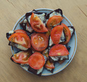 Tomate Sanwiches Photo stock