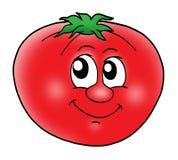 Tomate sonriente libre illustration
