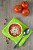 Tomate-Suppe Stockfotos