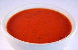Tomate-Suppe lizenzfreies stockfoto