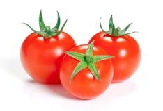 Tomate sur le fond blanc. Photographie stock libre de droits