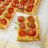 Tomate-Törtchen Lizenzfreie Stockfotografie