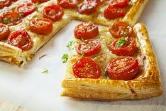 Tomate-Törtchen Stockbilder