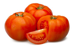 Tomate trois Images stock