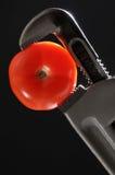 Tomate und Schlüssel Lizenzfreies Stockfoto