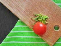 Tomate y cebolla Imagenes de archivo