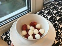 Tomate y mozzarella Fotos de archivo libres de regalías
