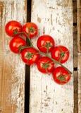 Tomatebündel Stockfoto