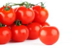 Tomatehintergrund Stockbild