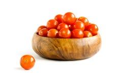 Tomatekirsche Stockfoto