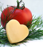 Tomaten & kaas Royalty-vrije Stock Fotografie