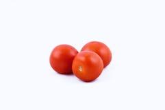 Tomaten auf weißem Hintergrund Lizenzfreies Stockfoto
