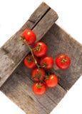 Tomaten, die met kruiden voor het behoud worden gekookt Royalty-vrije Stock Foto's