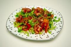 Tomaten en peper Royalty-vrije Stock Foto