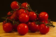 Tomaten-Kirsche Stockfotos