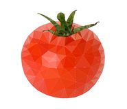 Tomaten-Polygon-Vektor Stockfotos