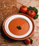tomaten soep stock afbeelding