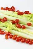 Tomaten und Sellerie Lizenzfreies Stockfoto