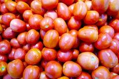 Tomatenbeschaffenheitshintergrund Stockbild