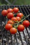Tomatengrill stockbild
