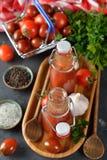 Tomatenketchup Stock Foto's