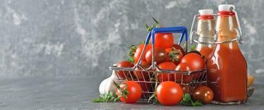 Tomatenketchup Royalty-vrije Stock Foto