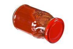 Tomatenkonzentrat Stockfoto