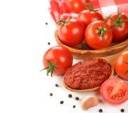 Tomatenkonzentrat Lizenzfreies Stockfoto