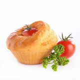 Tomatenmuffin Stockfotografie